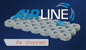 Air channels 3 300