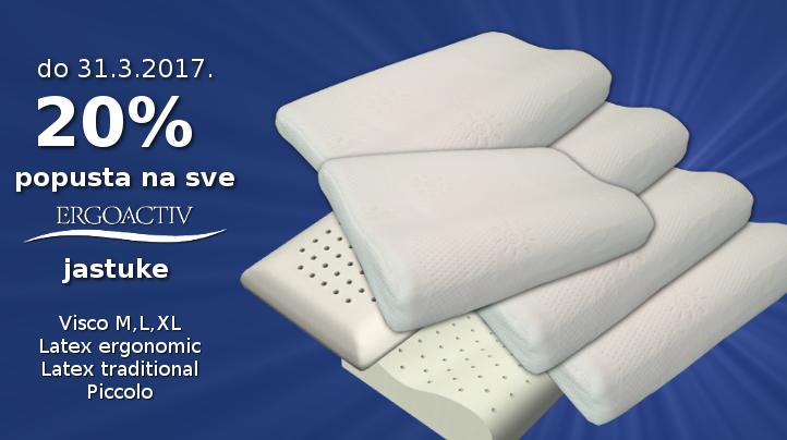 Akcija jastuci do 31.0.3.2017.