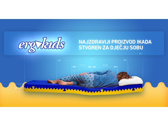 ergoactiv ergokids madrac za djecu dječji madrac
